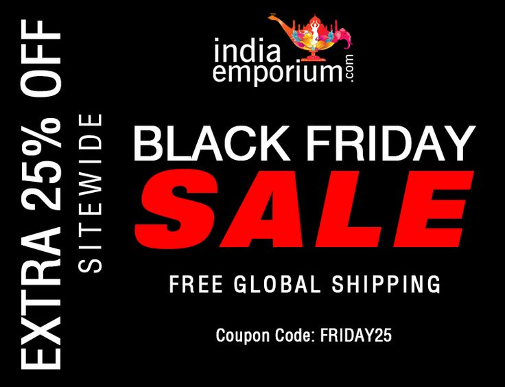 Biggest #BlackFridaySale on #Ethnic Wear Is Now Live  Extra 25% off sitewide, Coupon code: FRIDAY25