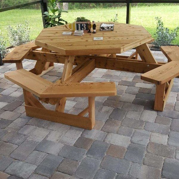 Cimarron End Table In 2019 Wooden Picnic Tables Picnic Table Metal Picnic Tables