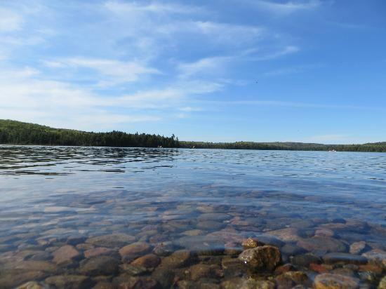 Canisbay Lake Campground: Canisbay Lake.