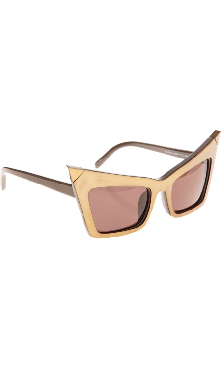 Alexander Wang Extreme Cat Eye Sunglasses
