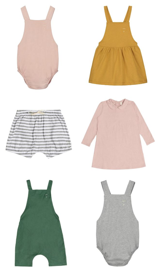Sweet & Simple Organic Cotton Clothing by Gray Label