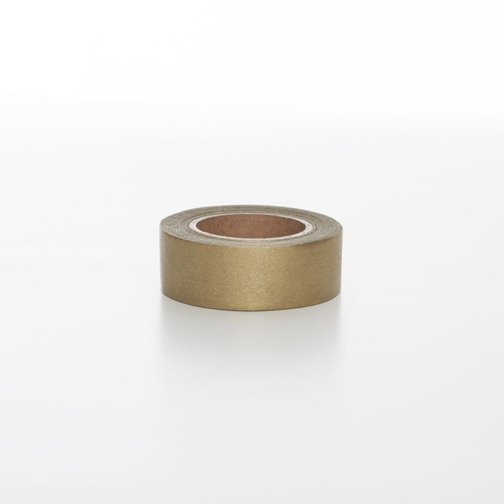 ✶ Washi tape | Goud | Golden washi tape | Perfect for wrapping Christmas gifts | Papergoodies.nl