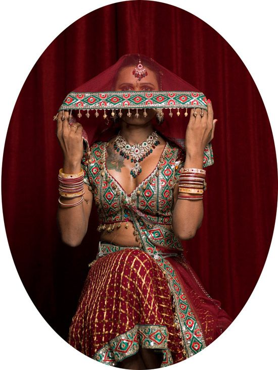 from Jill Peters' Third Gender series on Indian hijras