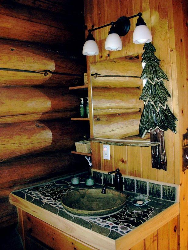 18 best Log Home Bathroom Ideas images on Pinterest Bathrooms, Log