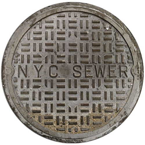 This NYC Sewer Cover Doormat is perfect for your home. You can pretend that the Teenage Mutant Ninja Turtles live under your house.  Maybe you just like sewers or miss living in the city. Whatever the reason, this doormat will be perf