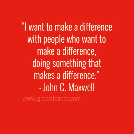 #Leadership makes a difference @John Maxwell Team