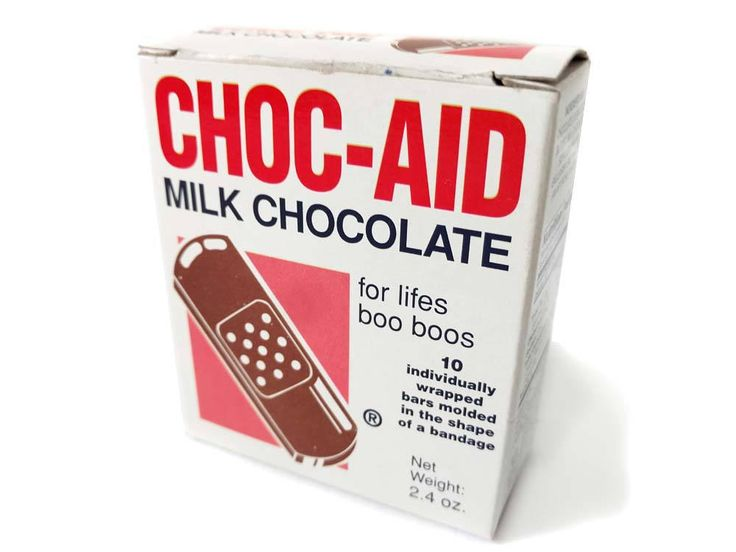 CHOC-AID Milk Chocolate Bandages Box Chocolate Band-Aid Funny Novelty Chocolate Gag Gift Fake Bandaids for Life's Boo Boos by CollectionSelection on Etsy, SOLD
