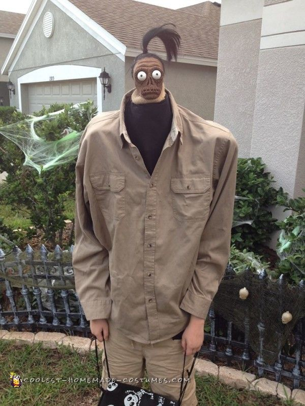 Beetlejuice Shrunken Head Man Costume...