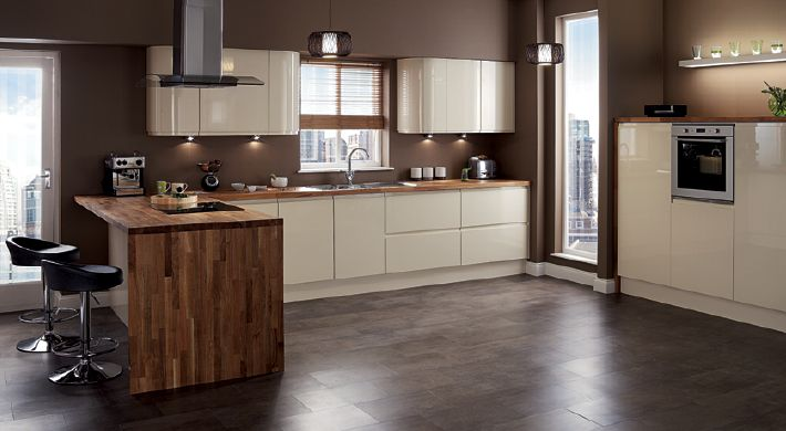 Fitted Kitchens Cream