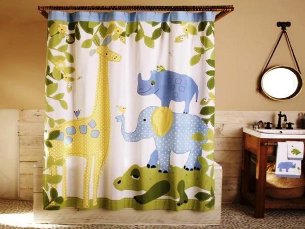 Kids Shower Curtains Ideas Your Kids Will Love Horror Underground Kids Shower Curtain Kid Bathroom Decor Kids Bathroom Shower Curtain