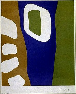 Jean Arp, Coulisses de Foret 1955
