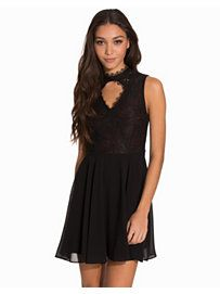 Beneath The Surface Dress - Nly Trend - Black/Red - Party Dresses - Clothing - Women - Nelly.com