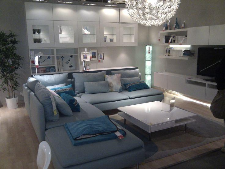 25 beste ideen over Ikea woonkamer op Pinterest  Woonkamer layouts Slaapkamer meubilair