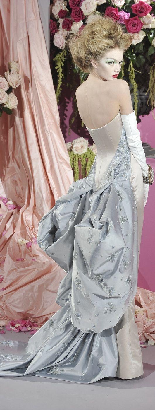 Christian Dior Spring 2010 #belle #epoque