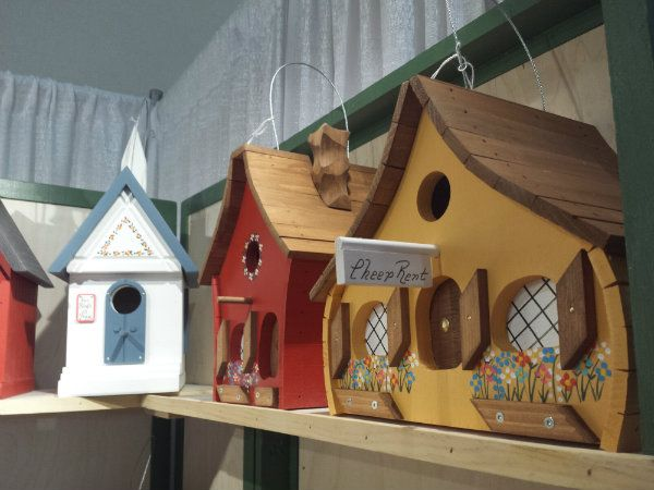Birdhouses by Don at the One of a Kind Christmas Show 2017
