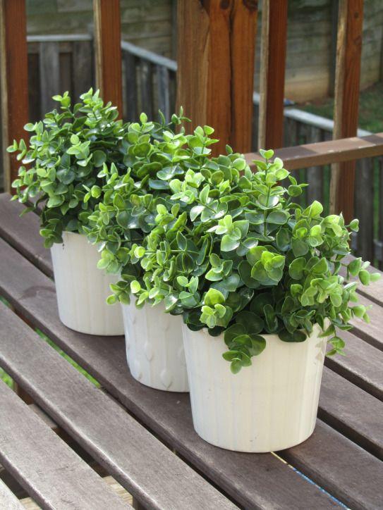 Faux plants from IKEA