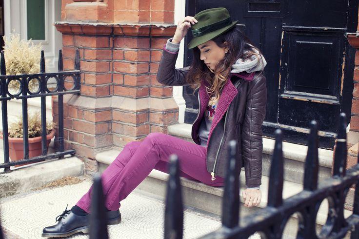 Purple look  #london #ukflag #cool #chiarabiasi#maisonespin #outfit #fallwinter13 #fashionblogger#womancollection #lovely #MadewithLove #romanticstyle #milano#clothing #shopping #iloveshopping