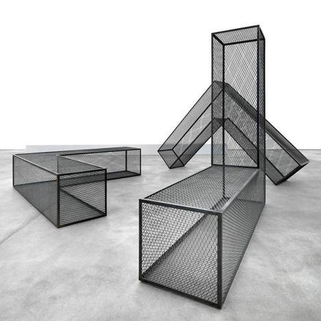 Robert Morris, steel mesh