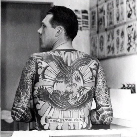 10 best western tattooing pre 1980 images on pinterest for Zig zag man tattoo