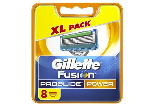 Recambios Gillette Fusion ProGlide Power XL pack de 8 unidades a un precio fantástico. Las mejores cuchillas del mercado en un pack XL a precio de chollo.