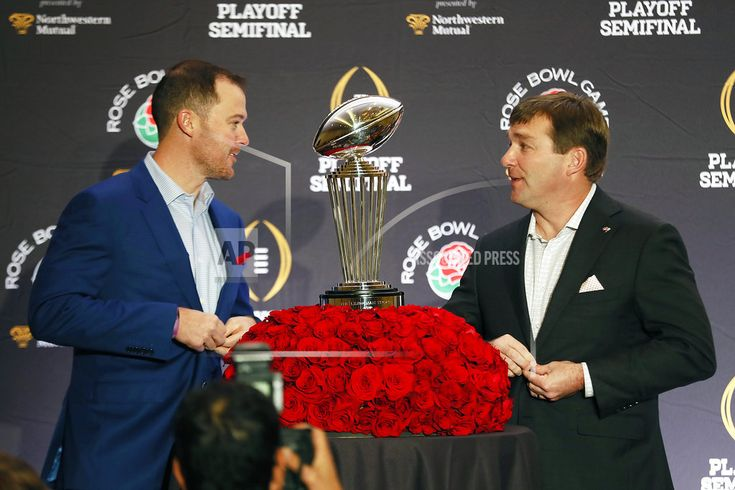 LOS ANGELES/December 31, 2017(AP)(STL.News)— A few days after the Rose Bowl matchup between No. 2 Oklahoma and No. 3 Georgia was set, Sooners coach Lincoln Riley and Bulldogs coach Kirby Smart ran into each other at a high school in Georgia. They were there by themselves to recruit the same pl... Read More Details: https://www.stl.news/rosy-outlook-riley-smart-playoff-potential-teams/59115/