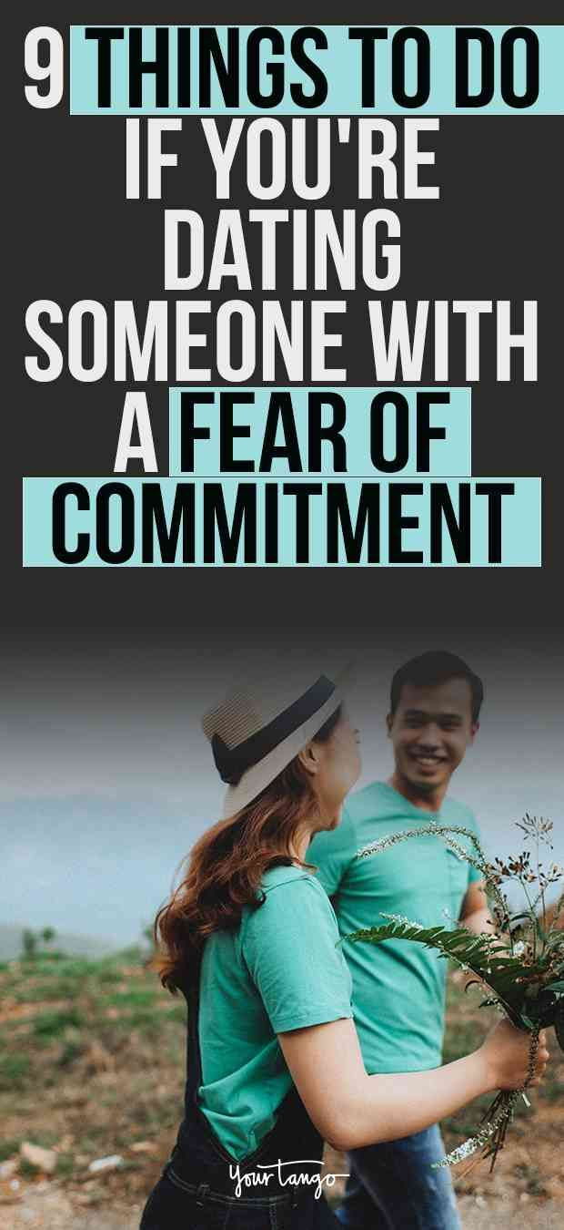 Dating a guy who fears commitment
