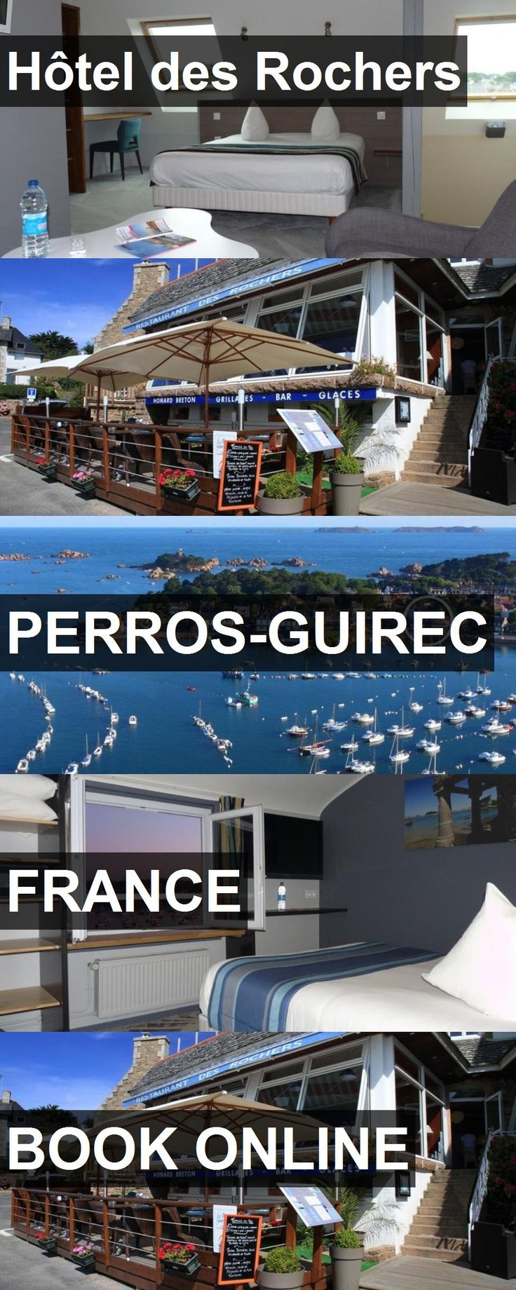 Hotel Hôtel des Rochers in Perros-Guirec, France. For more information, photos, reviews and best prices please follow the link. #France #Perros-Guirec #travel #vacation #hotel