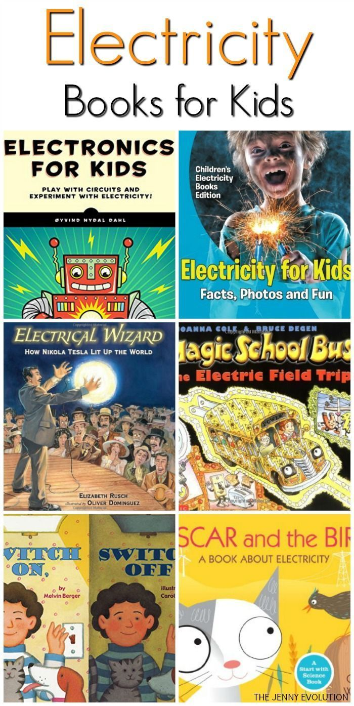 Electricity Books for Kids