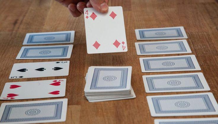 Playing Trash A Fun Kids Card Game Kids Playing card