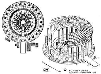 Tholos - templo circular Grego