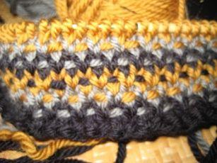 knit stitches- linen stitch - Google Search
