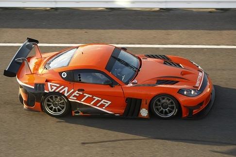 Ginetta G55 GT3 Car