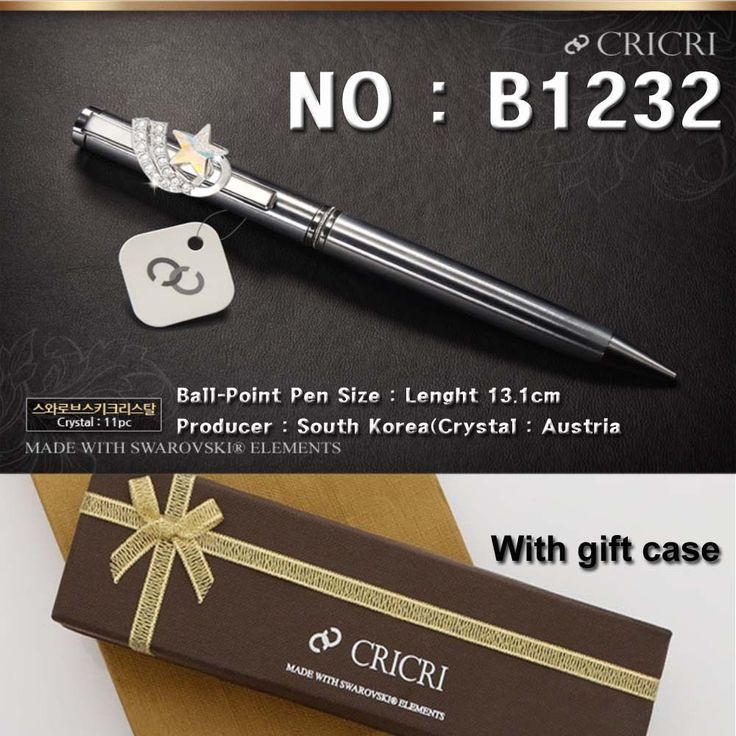 Swarovski crystal gifts fine ballpoint pen Two kinds of shipping all