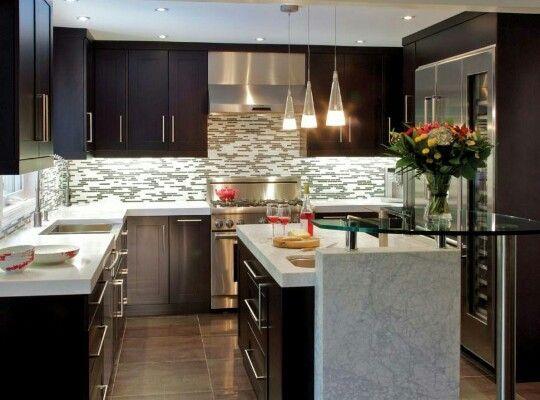 41 best ♥ Diseño interior cocina ♥ images on Pinterest Kitchen - cocinas elegantes