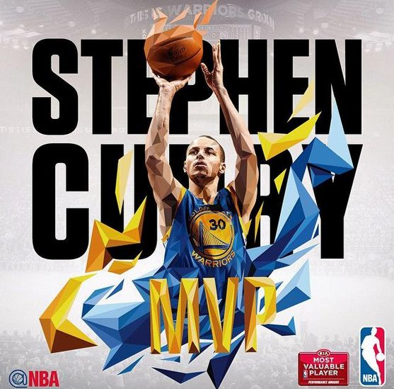 Congratulations to Stephen Curry, your 2015 NBA Most Valuable Player