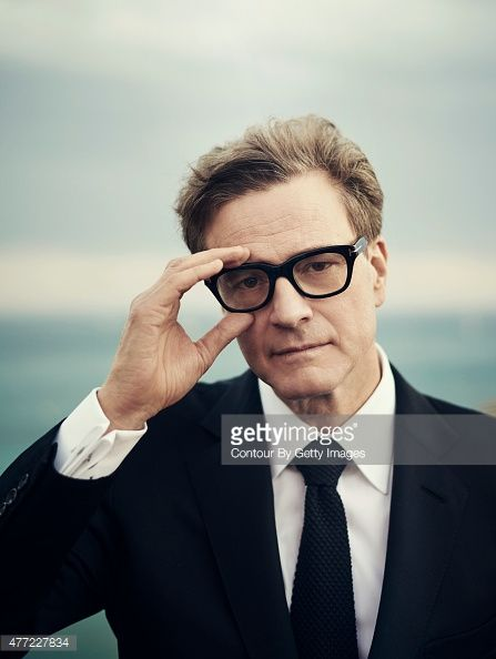 Actor Colin Firth is photographed on May 15 2015 in Cannes France