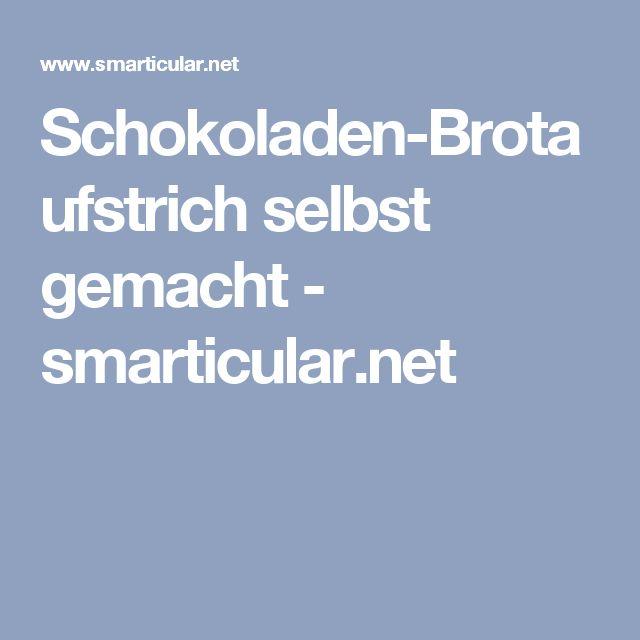 Schokoladen-Brotaufstrich selbst gemacht - smarticular.net