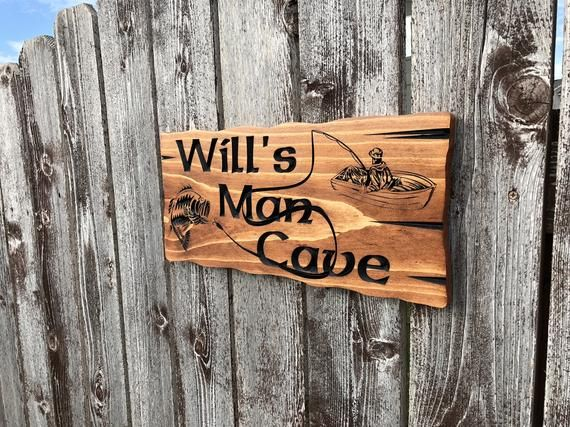 This Is For A Personalized Custom Garage Man Cave Wood Sign The Only Limitation Is Your Imagination Whe Man Cave Signs Custom Wood Signs Wooden Carved Signs