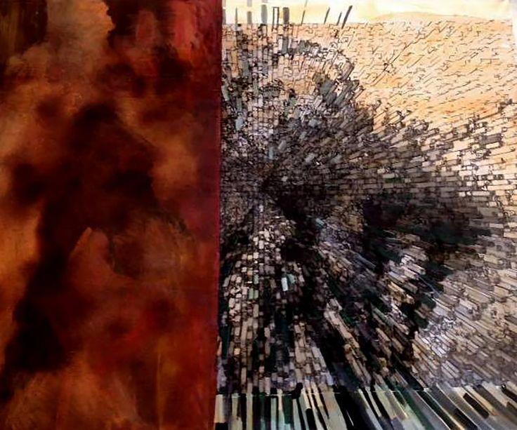 Gallerymak.com - 13.250 TL / 4.450 USD  İsimsiz by Didem Eren - Tuval üzerine Karışık Teknik - 160x130 Untitled by Didem Eren - Mixed Media on Canvas - 160x130  #sanat #resim #gününkaresi #soyut #soyutresim #sergi #galeri #ig_sanat #tasarım #sanatsal #mimar #contemporaryart #modernsanat #instaart #abstract #abstractpainting #abstractart