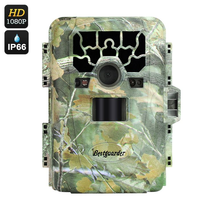Image of Full HD 1080P Game Camera - 12MP, 6 Months Standby, 2 Inch Screen, Speaker + Mic, PIR, 23M Night Vision
