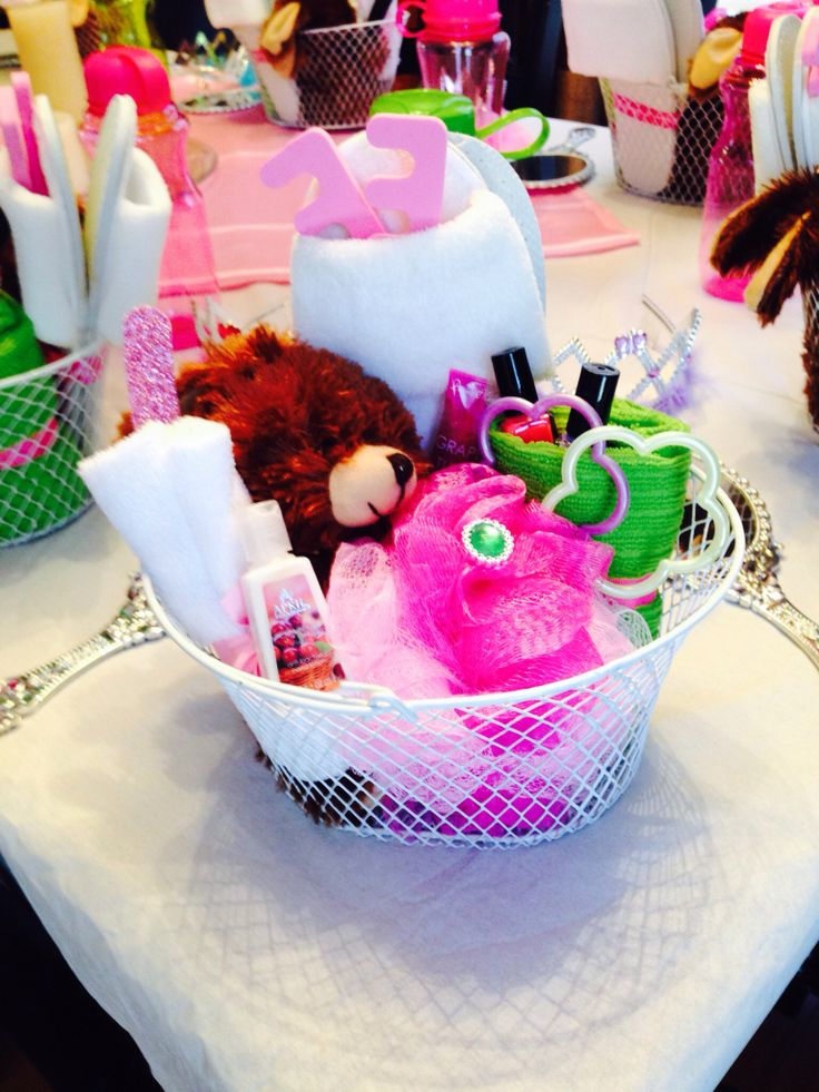 Spa Party Basket - 100% Dollar Store