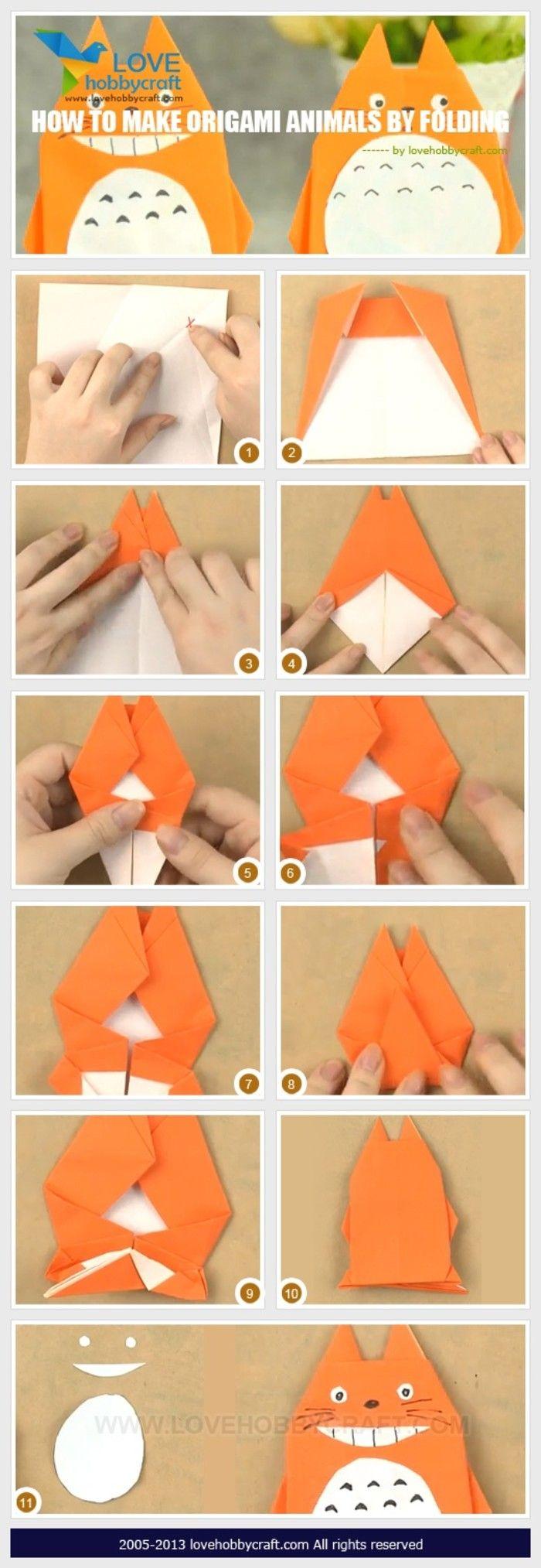 折纸 龙猫