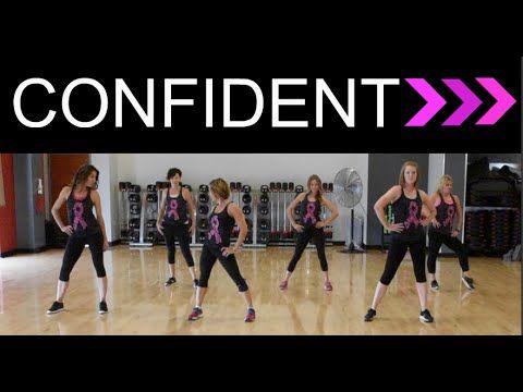 """""""Confident"""" by Demi Lovato. SHiNE DANCE FITNESS"""