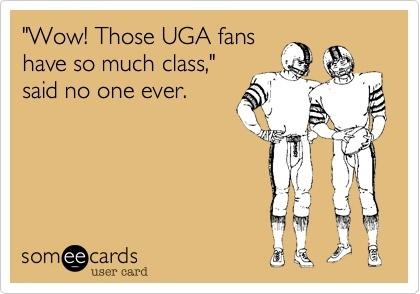 Georgia Tech UGA tailgating