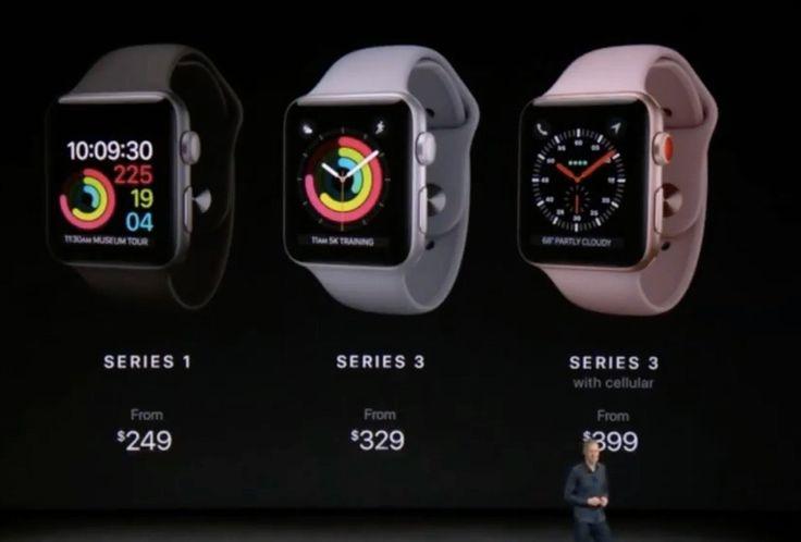 Lo que debes saber del Apple Watch Series 3 - Merca2.0