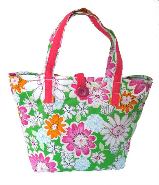 Spring Flowers Big Tote handbag AUD59.00 A cheerful spring flowers big tote to brighten up your day. Excellent weekend bag, fully lined and 2 inner pockets - 1 zipper and 1 cellphone pocket.   Dimensions: Top Horizontal 40.5cm wide, height excluding strap 29.5cm, height including strap 47cm Base dimensions - 26.5cm X 13.5cm http://www.imusthavethat.com.au/pd-spring-flowers-big-tote.cfm