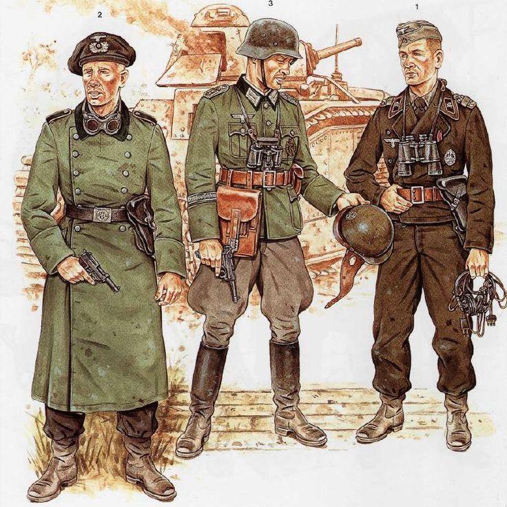 WW2 German Uniforms 03 by Wolfenkrieger on DeviantArt ...
