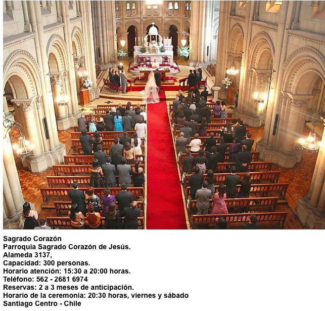 Iglesia Sagrado Corazón de Jesús   Alameda 3137   Santiago - Chile
