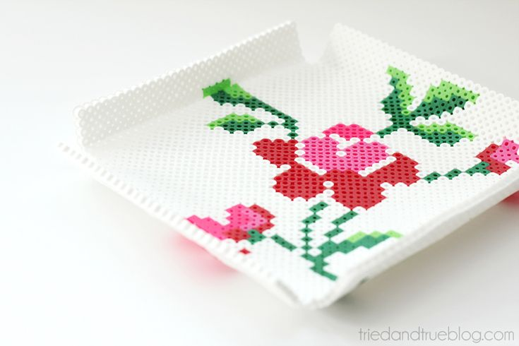 Mother's Day Perler Tray - Ready hama beads