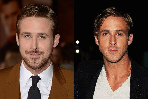 Uomo barbuto sempre piaciuto. O forse no?I divi di Hollywood non hanno dubbi: meglio con la barba che con il viso d'a... - Ryan Gosling